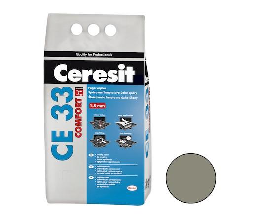 Spárovací hmota Ceresit CE 33 antracite 5 kg CG1 CE33513