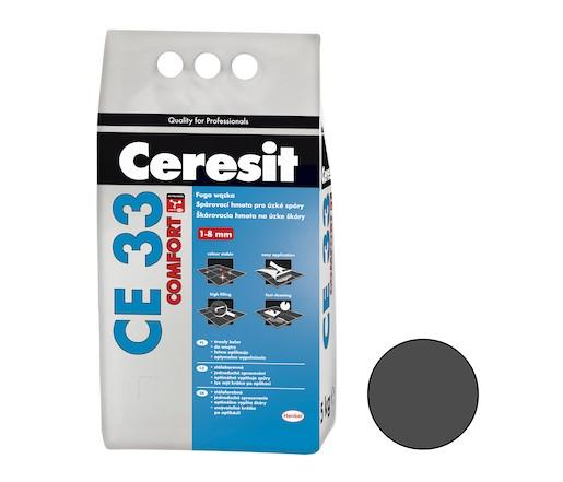 Spárovací hmota Ceresit CE 33 graphite 5 kg CG1 CE33516
