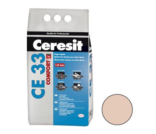 Spárovací hmota Ceresit CE 33 bahama 5 kg CG1 CE33543