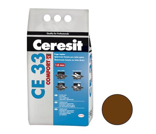 Spárovací hmota Ceresit CE 33 chocolate 5 kg CG1 CE33558