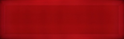 Obklad Ribesalbes Chic Colors rojo bisel 10x30 cm lesk CHICC1404