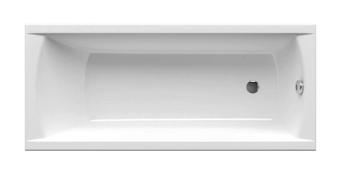 Obdélníková vana Ravak Classic 140x70 cm akrylát CA81000000
