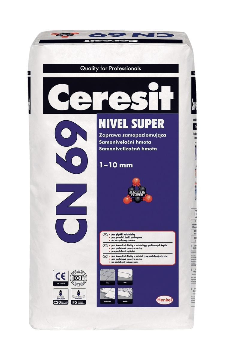 Samonivelační hmota Ceresit CN 69 25 kg CN69
