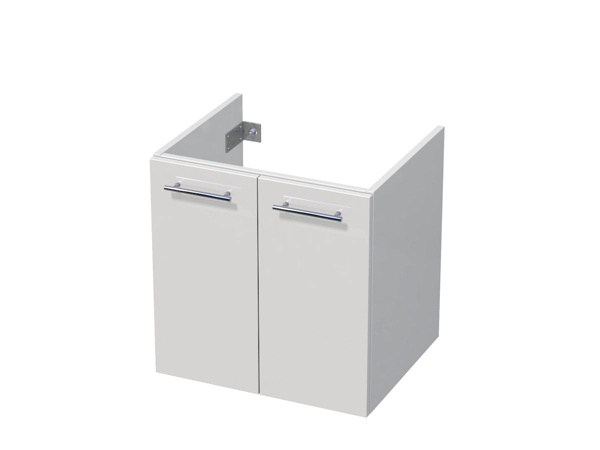 Koupelnová skříňka pod umyvadlo Naturel Ratio 61x56x46 cm bílá lesk CT652D56.9016G