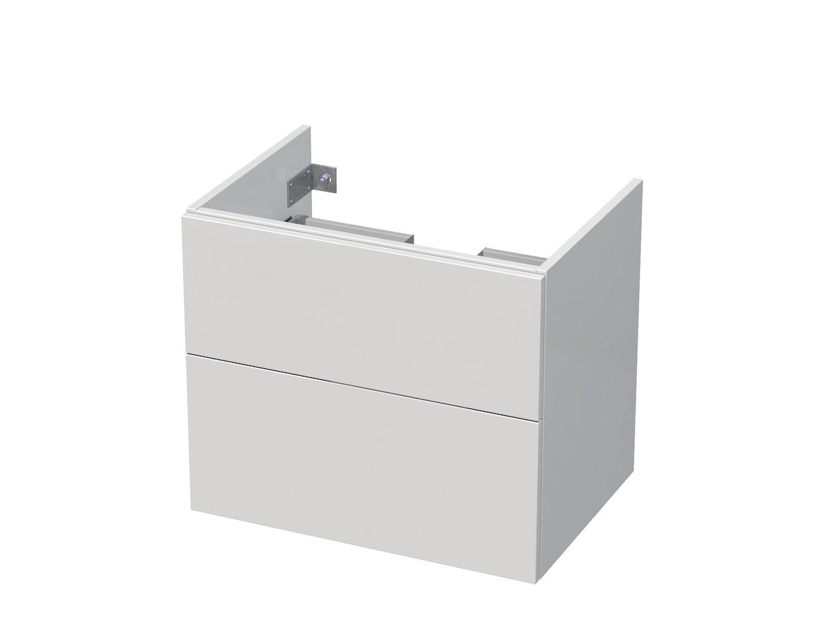 Koupelnová skříňka pod umyvadlo Naturel Ratio 61x56x46 cm bílá lesk CT652Z56PU.9016G