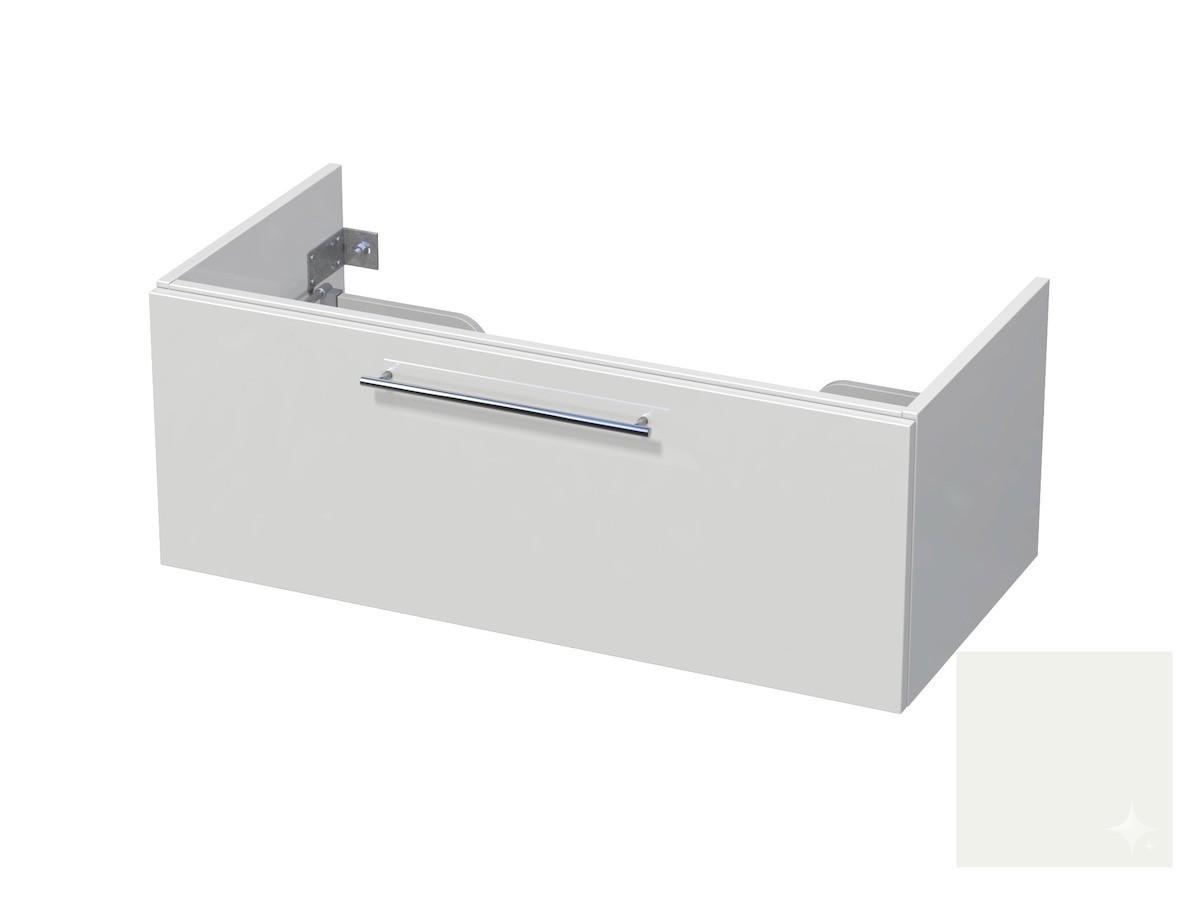 Koupelnová skříňka pod umyvadlo Naturel Ratio 100x41,5x40 cm bílá lesk CU1001Z36.9016G