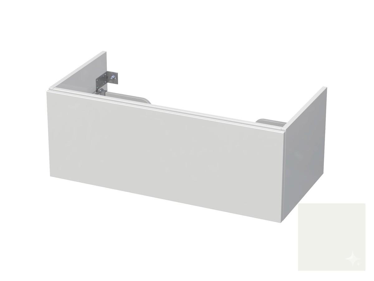 Koupelnová skříňka pod umyvadlo Naturel Ratio 100x41,5x40 cm bílá lesk CU1001Z36PU.9016G