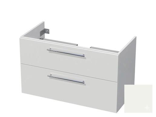 Koupelnová skříňka pod umyvadlo Naturel Ratio 100x61,5x40 cm bílá lesk CU1002Z56.9016G