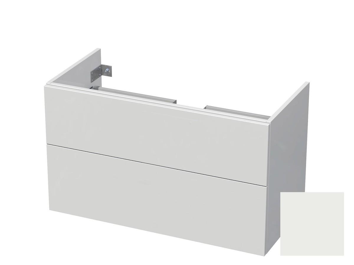 Koupelnová skříňka pod umyvadlo Naturel Ratio 100x61,5x40 cm bílá mat CU1002Z56PU.9016M