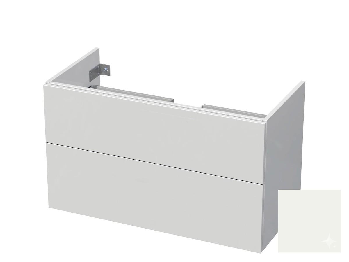 Koupelnová skříňka pod umyvadlo Naturel Ratio 100x61,5x40 cm bílá lesk CU1002Z56PU.9016G