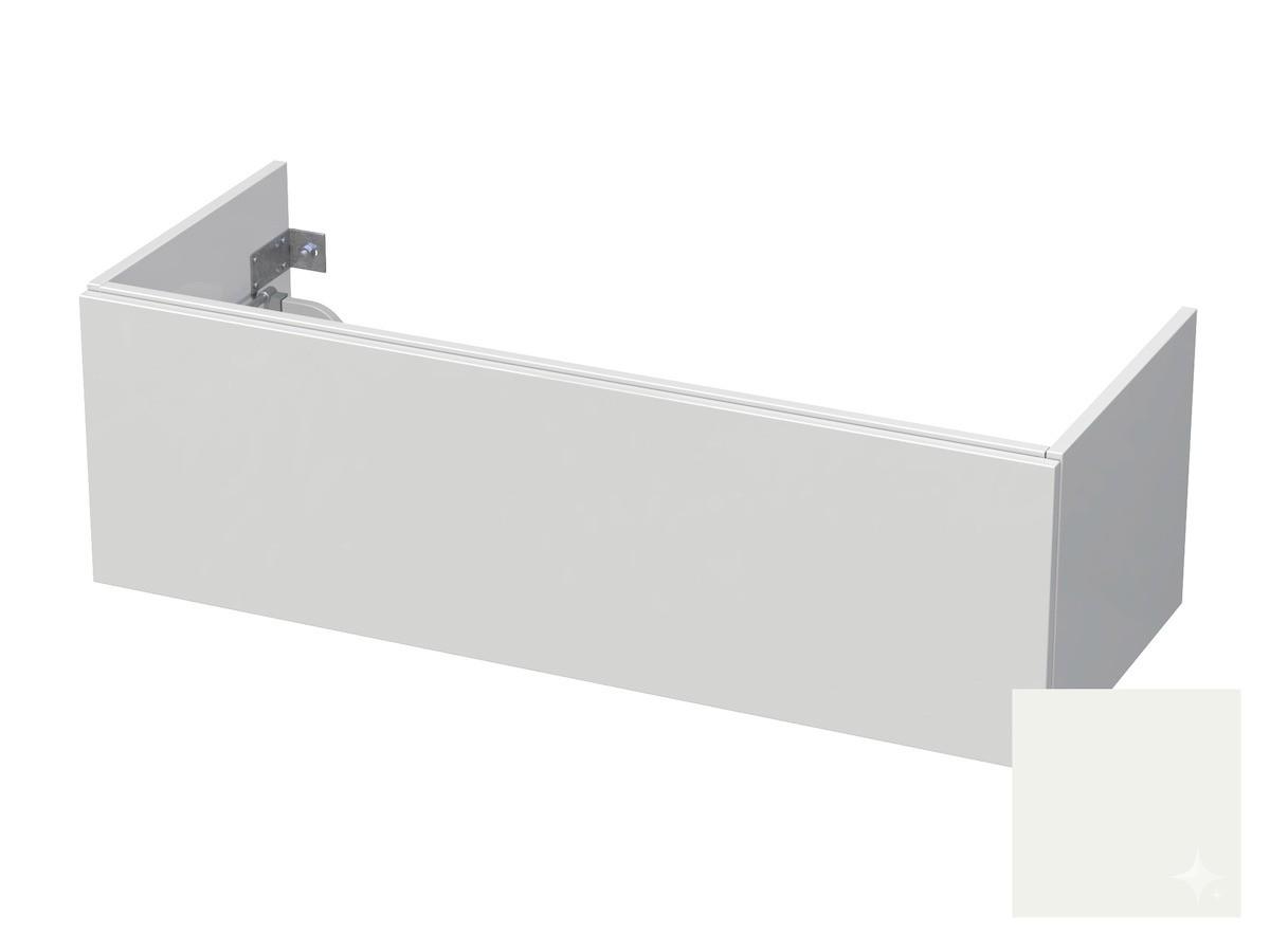 Koupelnová skříňka pod umyvadlo Naturel Ratio 120x41,5x40 cm bílá lesk CU120D1Z36PU.9016G