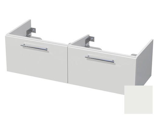 Koupelnová skříňka pod umyvadlo Naturel Ratio 120x41,5x40 cm bílá mat CU120D2Z36.9016M