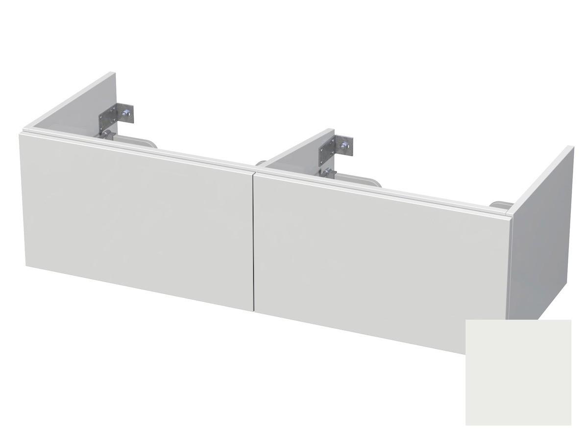 Koupelnová skříňka pod umyvadlo Naturel Ratio 120x41,5x40 cm bílá mat CU120D2Z36PU.9016M