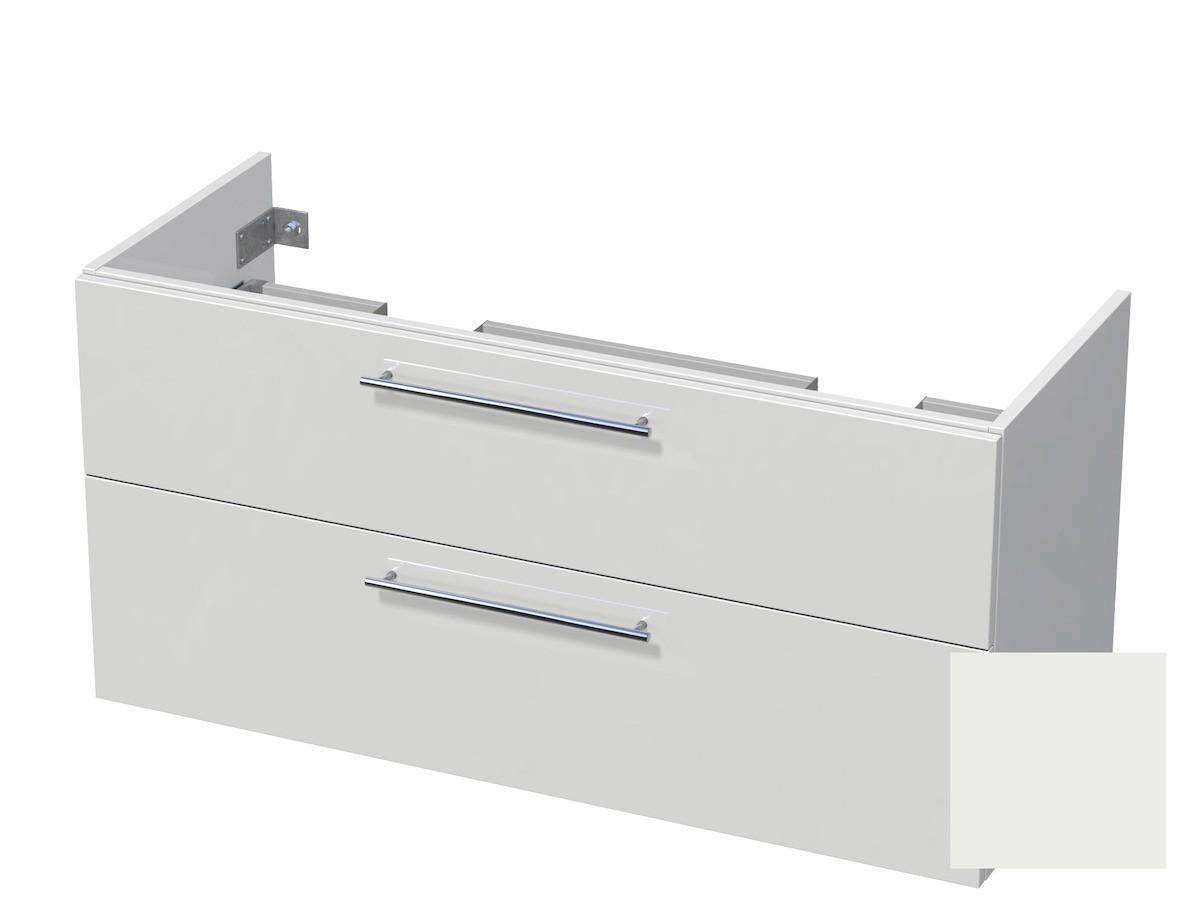 Koupelnová skříňka pod umyvadlo Naturel Ratio 120x61,5x40 cm bílá mat CU120D2Z56.9016M