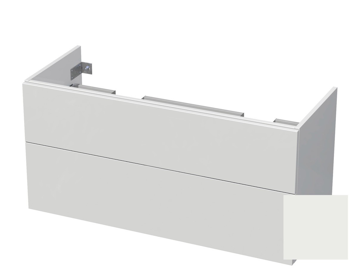 Koupelnová skříňka pod umyvadlo Naturel Ratio 120x61,5x40 cm bílá mat CU120D2Z56PU.9016M