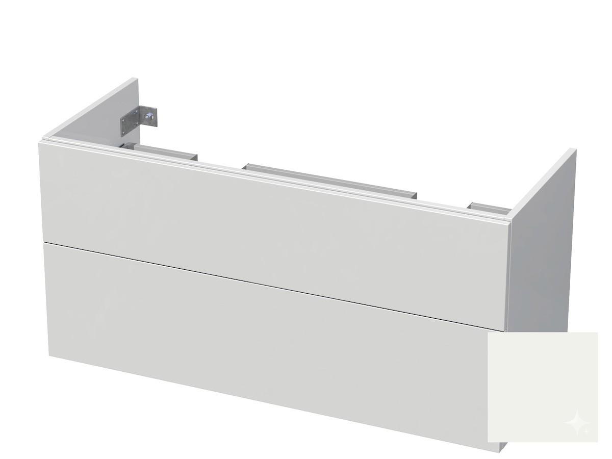 Koupelnová skříňka pod umyvadlo Naturel Ratio 120x61,5x40 cm bílá lesk CU120D2Z56PU.9016G