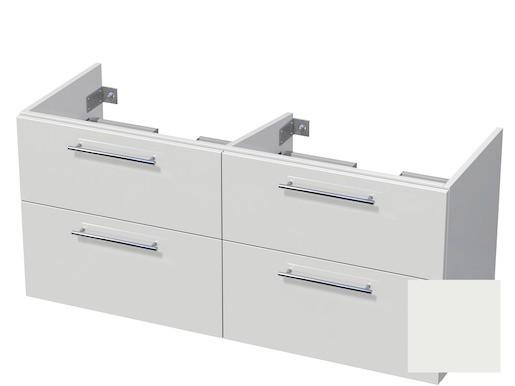 Koupelnová skříňka pod umyvadlo Naturel Ratio 120x61,5x40 cm bílá mat CU120D4Z56.9016M