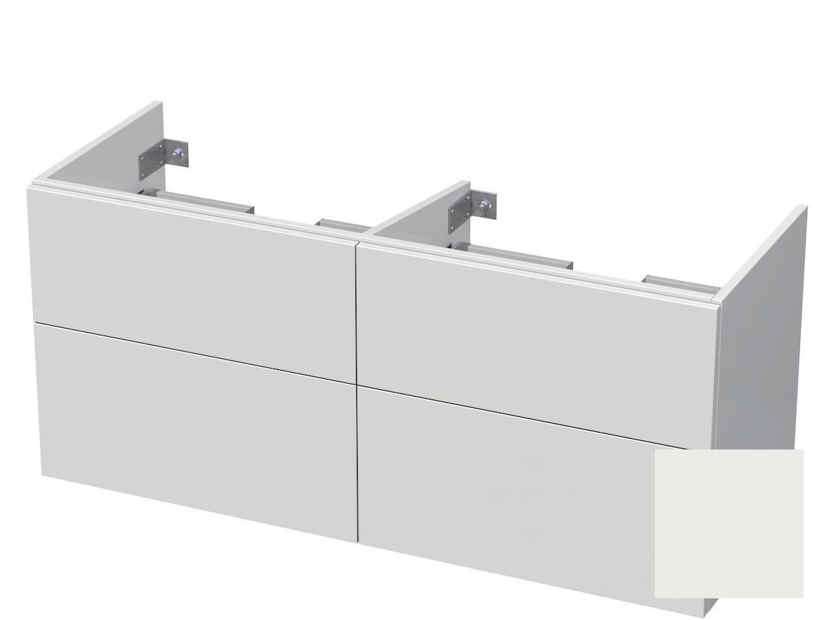 Koupelnová skříňka pod umyvadlo Naturel Ratio 120x61,5x40 cm bílá mat CU120D4Z56PU.9016M