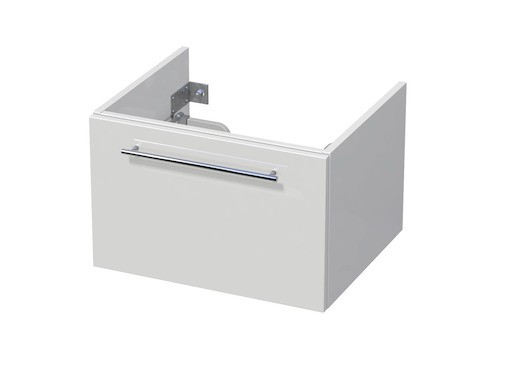 Koupelnová skříňka pod umyvadlo Naturel Ratio 60x41,5x40 cm bílá lesk CU601Z36.9016G