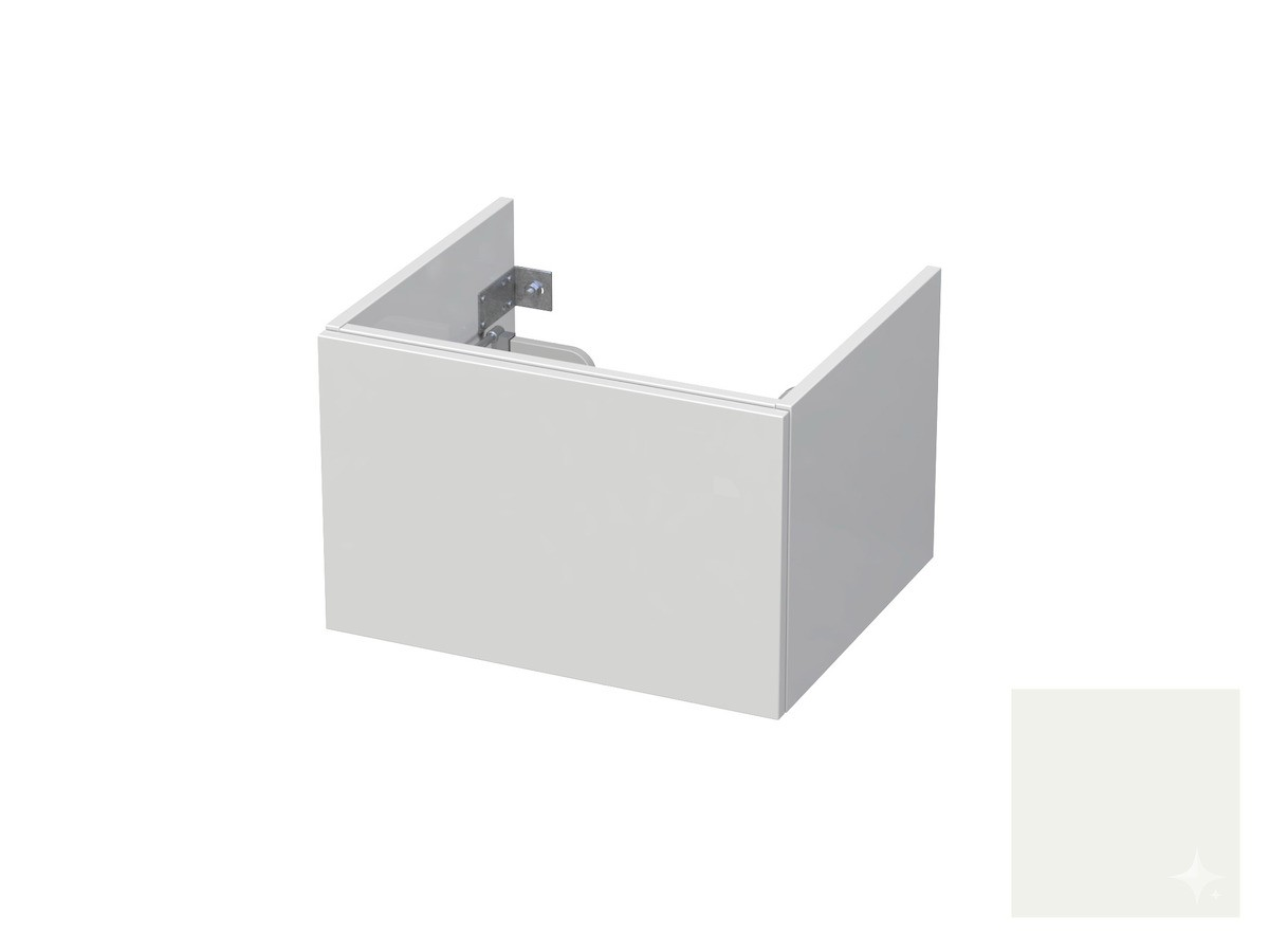 Koupelnová skříňka pod umyvadlo Naturel Ratio 60x41,5x40 cm bílá lesk CU601Z36PU.9016G