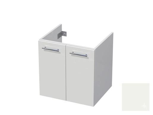 Koupelnová skříňka pod umyvadlo Naturel Ratio 60x61,5x40 cm bílá lesk CU602D56.9016G