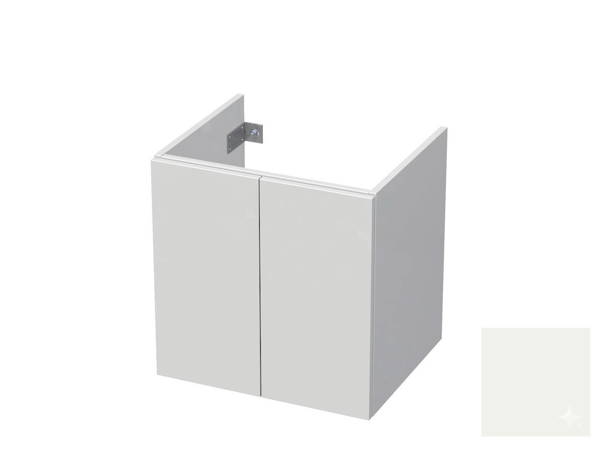 Koupelnová skříňka pod umyvadlo Naturel Ratio 60x61,5x40 cm bílá lesk CU602D56PU.9016G