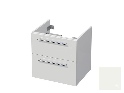 Koupelnová skříňka pod umyvadlo Naturel Ratio 60x61,5x40 cm bílá lesk CU602Z56.9016G