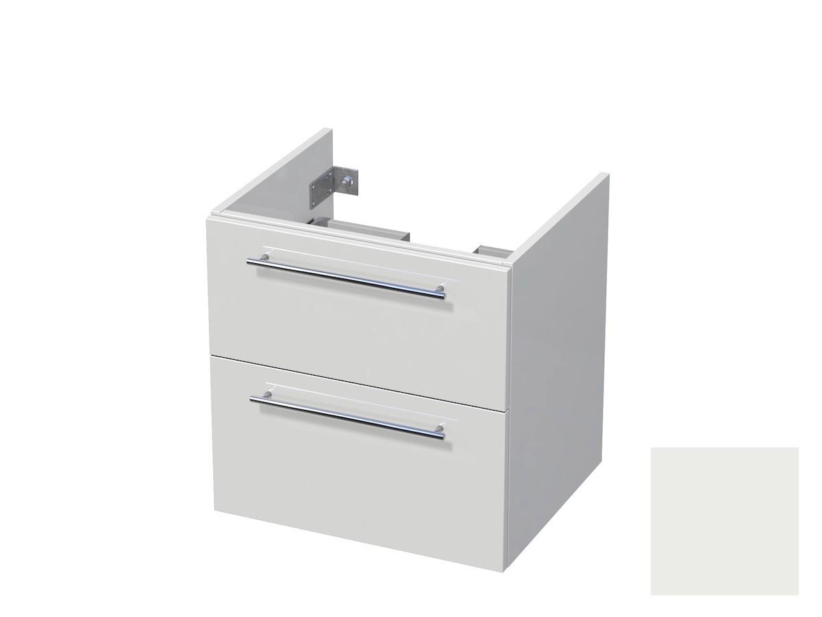 Koupelnová skříňka pod umyvadlo Naturel Ratio 60x61,5x40 cm bílá mat CU602Z56.9016M