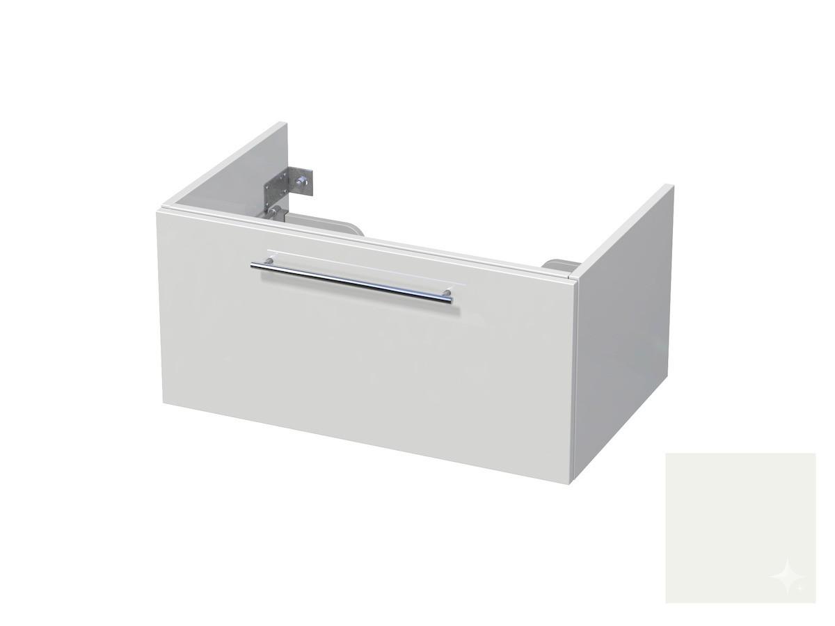 Koupelnová skříňka pod umyvadlo Naturel Ratio 80x41,5x40 cm bílá lesk CU801Z36.9016G