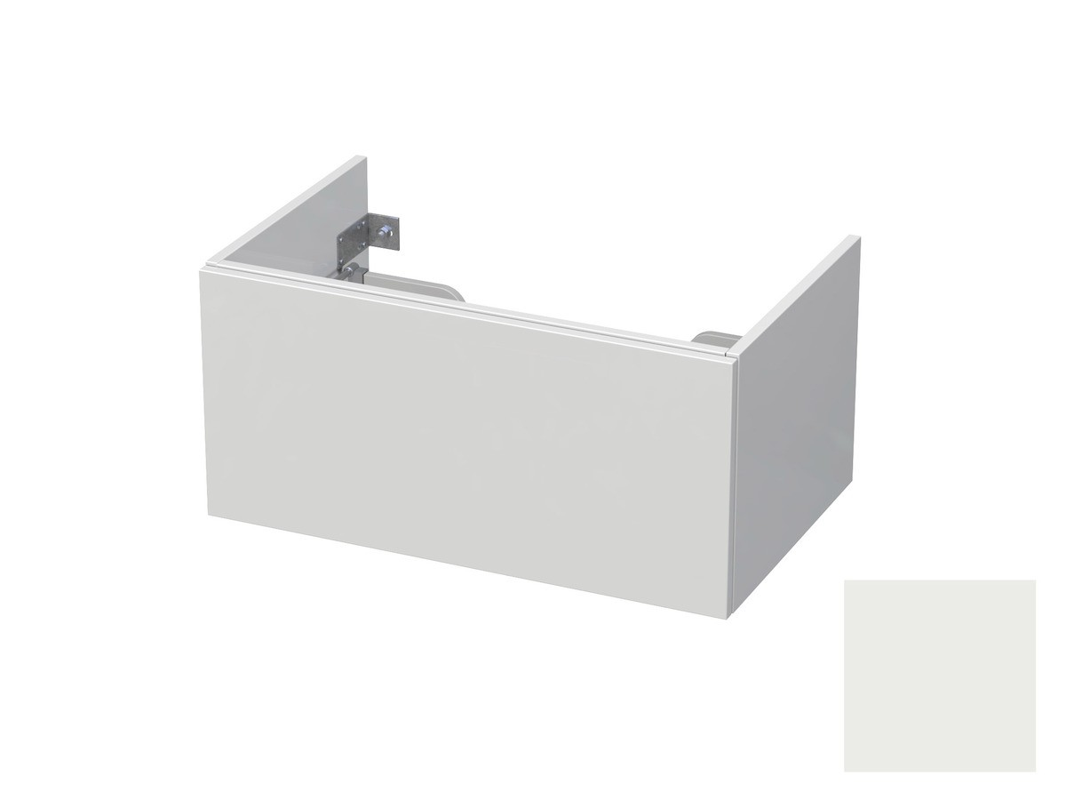 Koupelnová skříňka pod umyvadlo Naturel Ratio 80x41,5x40 cm bílá mat CU801Z36PU.9016M