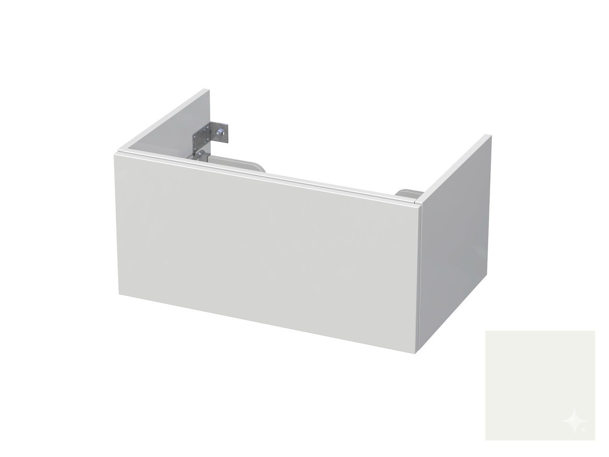 Koupelnová skříňka pod umyvadlo Naturel Ratio 80x41,5x40 cm bílá lesk CU801Z36PU.9016G