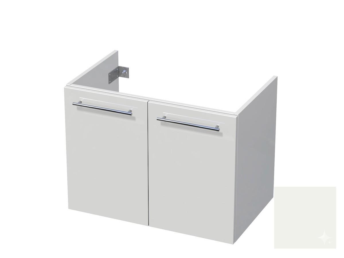 Koupelnová skříňka pod umyvadlo Naturel Ratio 80x61,5x40 cm bílá lesk CU802D56.9016G
