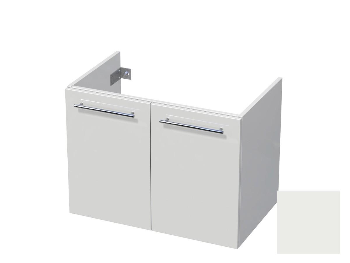 Koupelnová skříňka pod umyvadlo Naturel Ratio 80x61,5x40 cm bílá mat CU802D56.9016M