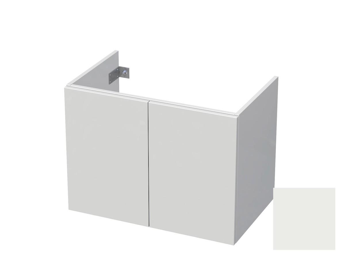 Koupelnová skříňka pod umyvadlo Naturel Ratio 80x61,5x40 cm bílá mat CU802D56PU.9016M