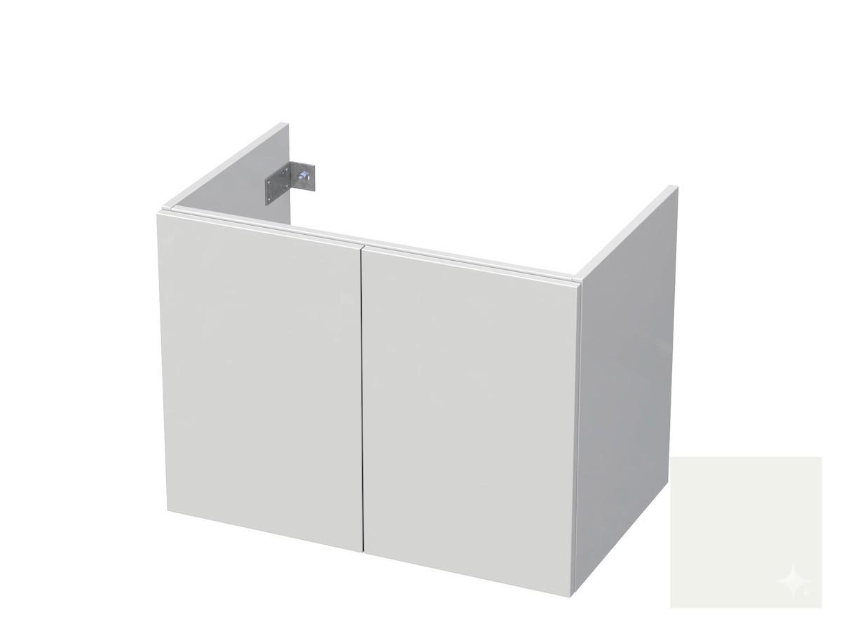 Koupelnová skříňka pod umyvadlo Naturel Ratio 80x61,5x40 cm bílá lesk CU802D56PU.9016G