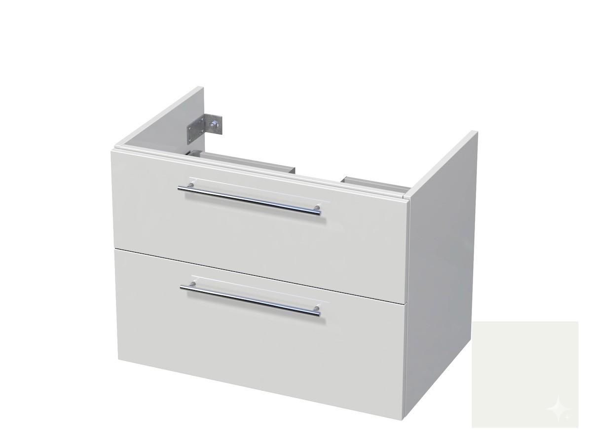 Koupelnová skříňka pod umyvadlo Naturel Ratio 80x61,5x40 cm bílá lesk CU802Z56.9016G