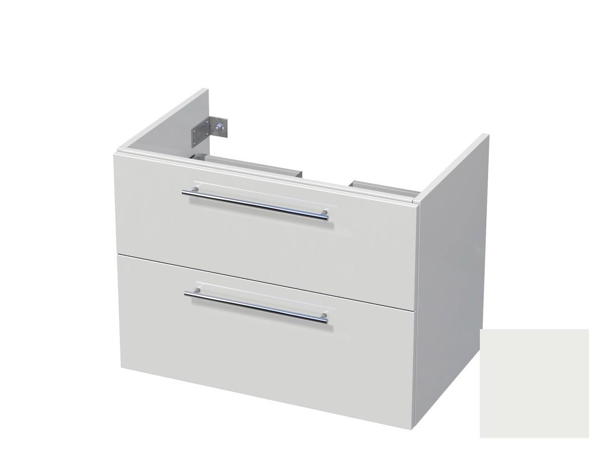 Koupelnová skříňka pod umyvadlo Naturel Ratio 80x61,5x40 cm bílá mat CU802Z56.9016M
