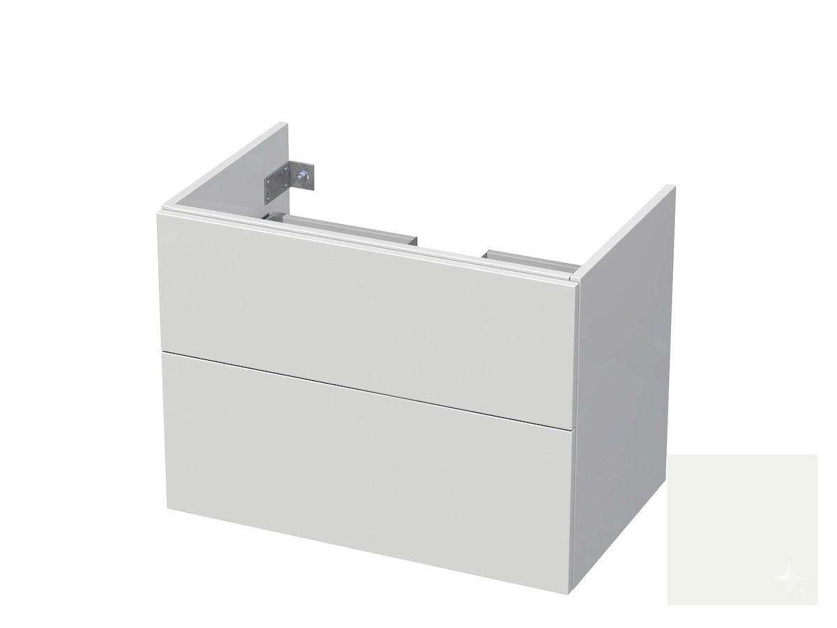 Koupelnová skříňka pod umyvadlo Naturel Ratio 80x61,5x40 cm bílá lesk CU802Z56PU.9016G