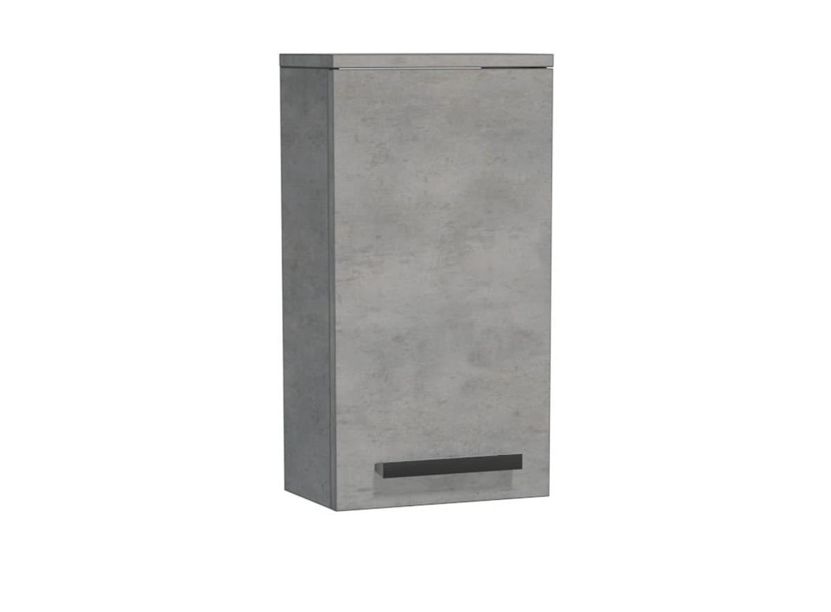 Koupelnová skříňka nízká Naturel Cube Way 32,5x63x20 cm beton CUBE2H32BE