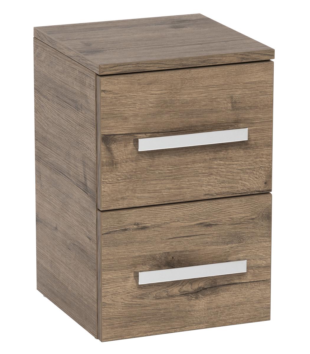 Koupelnová skříňka nízká Naturel Cube Way 32,5x33 cm dub wellington CUBE2N32DW