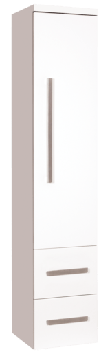 Vysoká skříňka Naturel Cube Way 32,5 cm, bílá CUBE2V35B