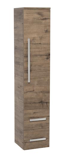 Koupelnová skříňka vysoká Naturel Cube Way 32,5x33 cm dub wellington CUBE2V35DW
