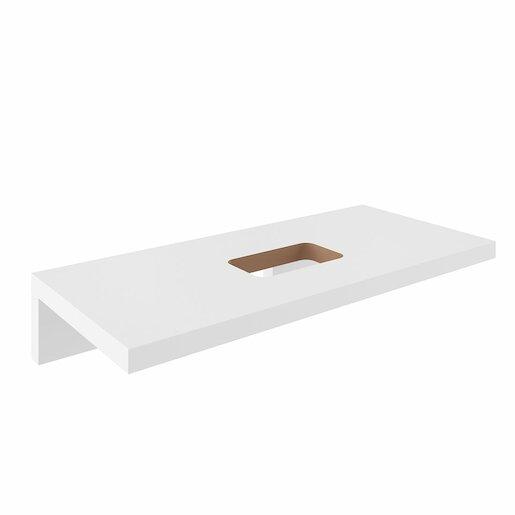 Deska pod umyvadlo Ravak 80x55 cm bílá X000000830