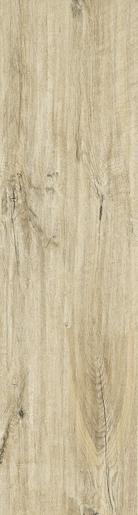 Dlažba Dom Logwood cream 25x100 cm, mat, rektifikovaná DLO2520