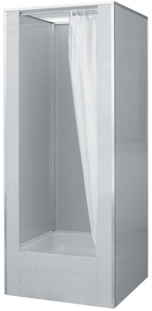 Sprchový box čtverec 81x81x212 cm Teiko Dora bílá V404080N00T21330