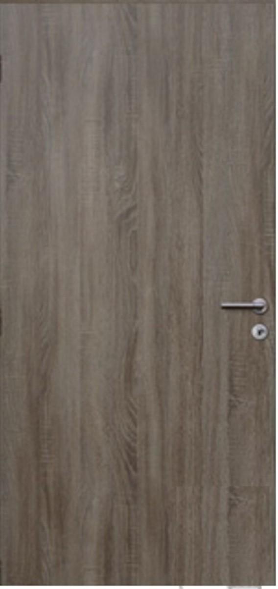 Protipožární dveře Naturel Technické pravé 80 cm dub DPODA80P