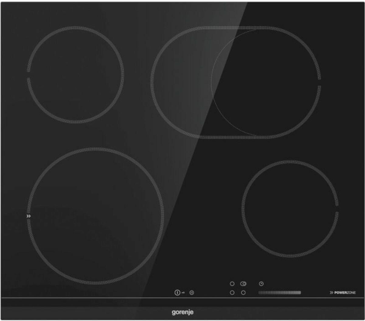 Sklokeramická varná deska Gorenje černá ECS648BCSC