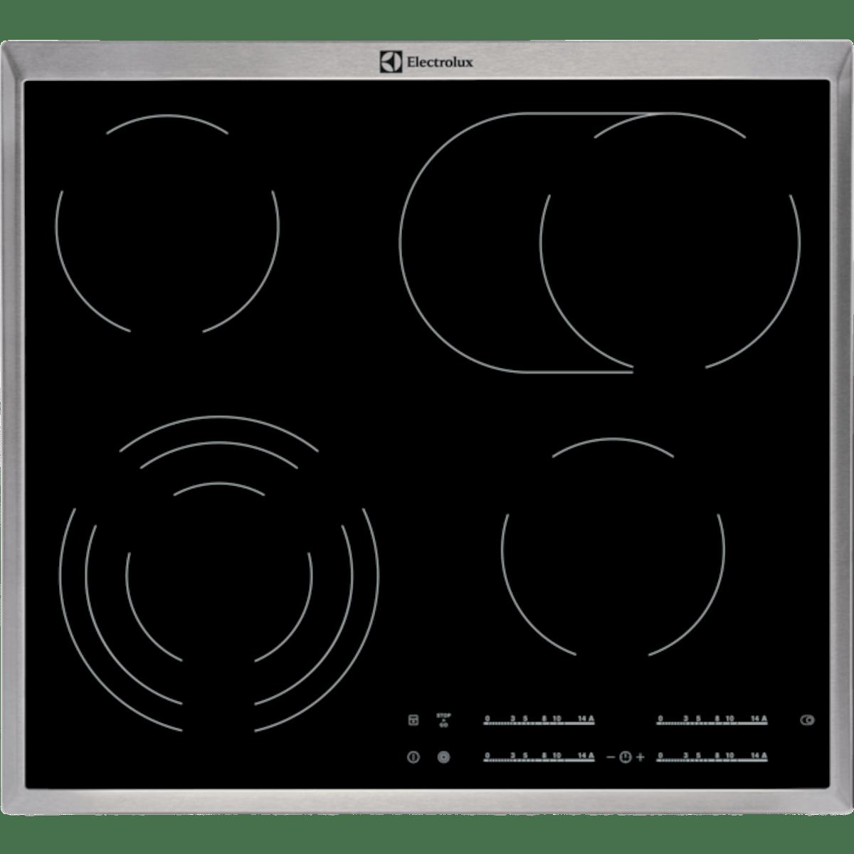 Sklokeramická varná deska Electrolux černá EHF46547XK