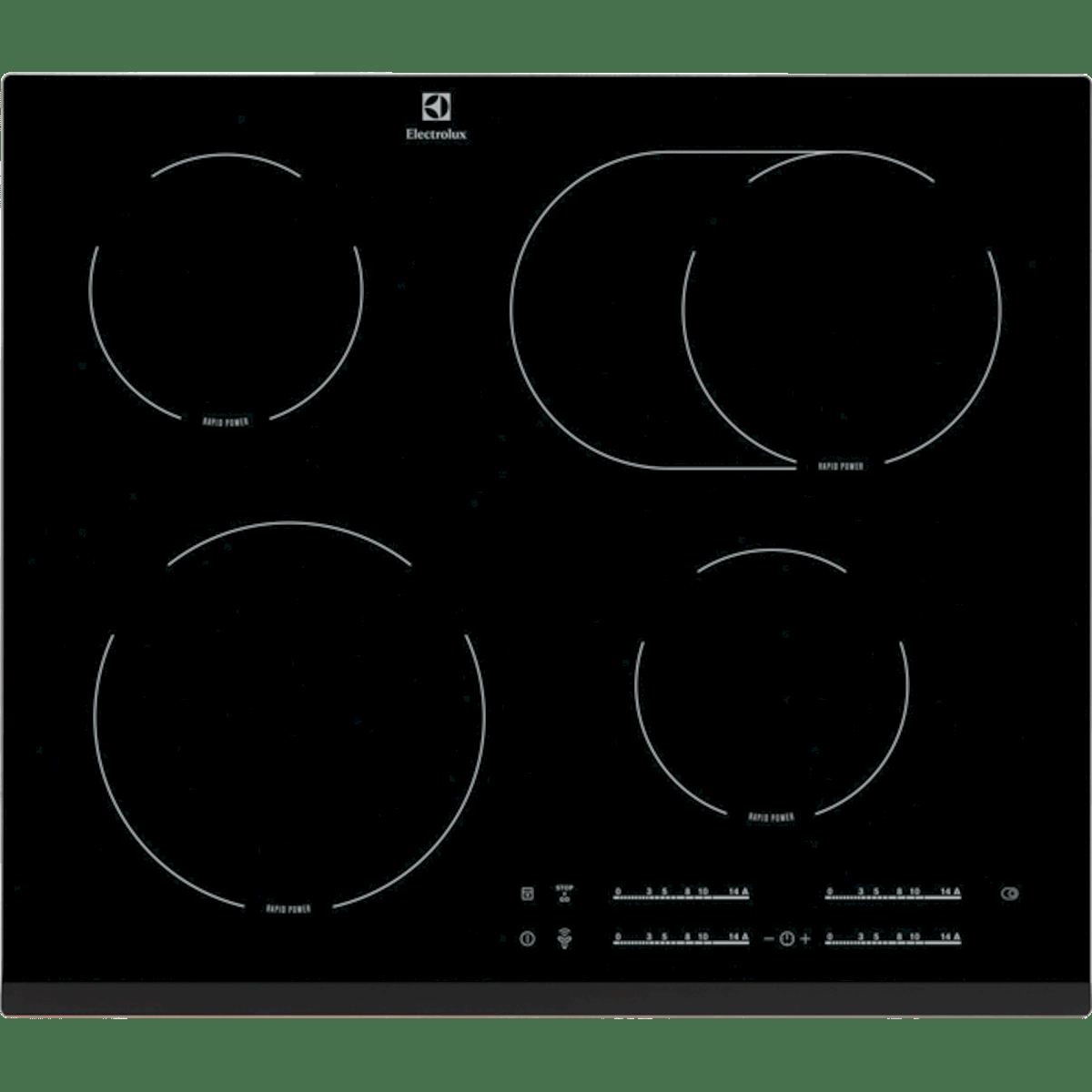 Sklokeramická varná deska Electrolux černá EHF65451FK