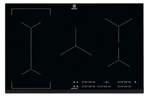 Indukční varná deska Electrolux černá EIV835